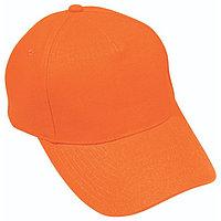 Бейсболка OPTIMA S, 5 клиньев, металлическая застежка, Оранжевый, -, 19402 400