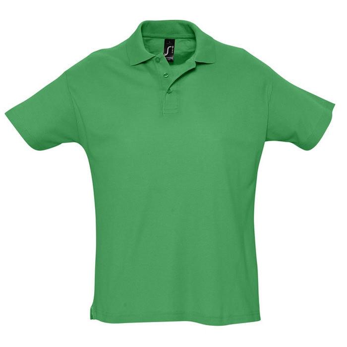 Поло мужское SUMMER 170, Зеленый, XL, 711342.272 XL