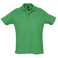 Поло мужское SUMMER 170, Зеленый, XL, 711342.272 XL, фото 1