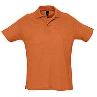 Поло мужское SUMMER 170, Оранжевый, XL, 711342.400 XL, фото 1