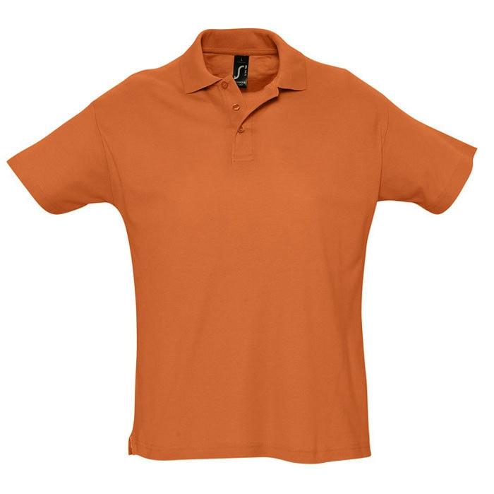 Поло мужское SUMMER 170, Оранжевый, 2XL, 711342.400 2XL
