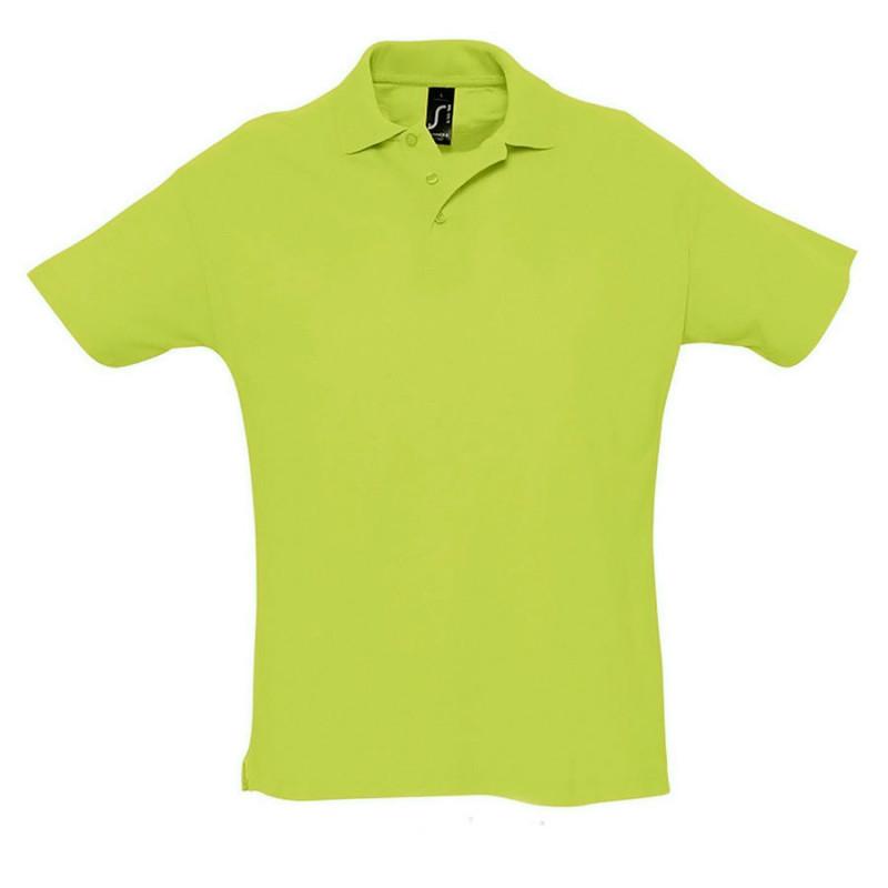 Поло мужское SUMMER 170, Зеленый, 2XL, 711342.280 2XL