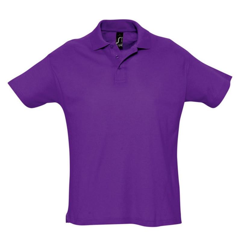 Поло мужское SUMMER 170, Фиолетовый, XL, 711342.712 XL