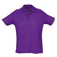 Поло мужское SUMMER 170, Фиолетовый, XL, 711342.712 XL, фото 1
