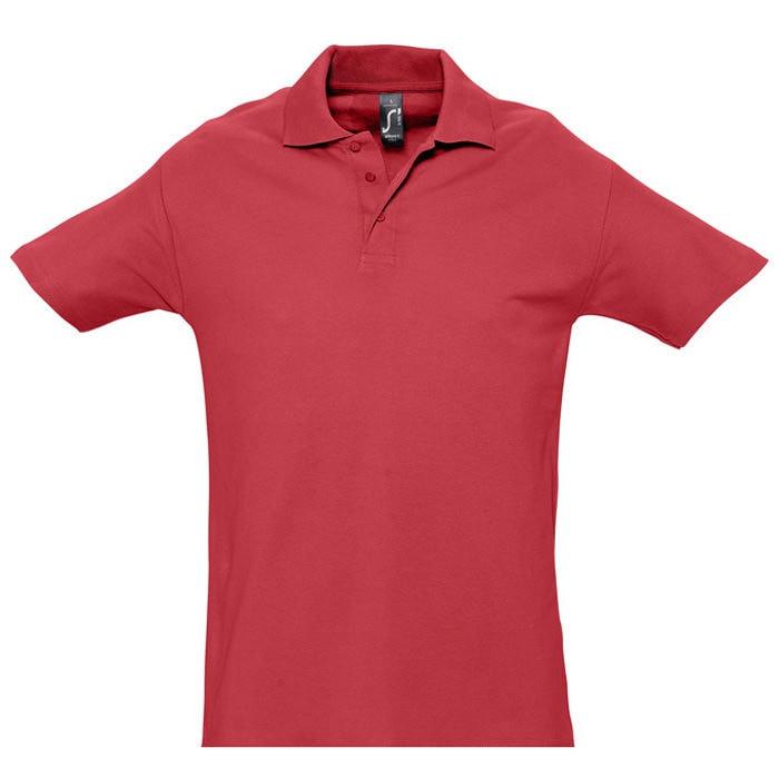 Поло мужское SPRING 210, Красный, S, 711362.145 S