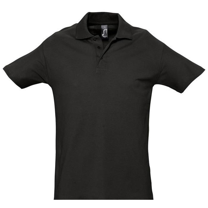 Поло мужское SPRING 210, Черный, L, 711362.312 L