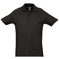 Поло мужское SPRING 210, Черный, XL, 711362.312 XL, фото 1