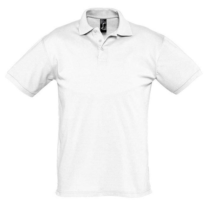 Поло мужское SEASON 170, Белый, S, 711335.102 S