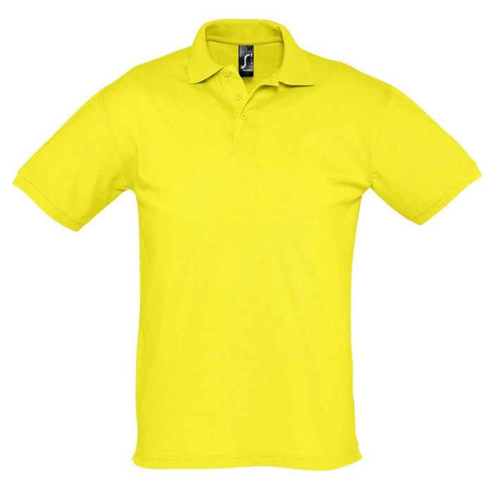 Поло мужское SEASON 170, Желтый, 2XL, 711335.302 2XL