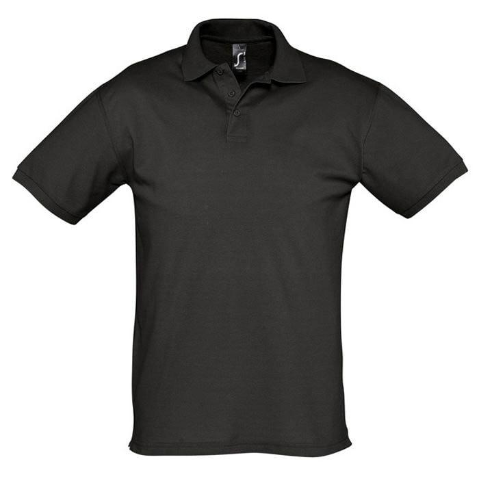 Поло мужское SEASON 170, Черный, S, 711335.312 S