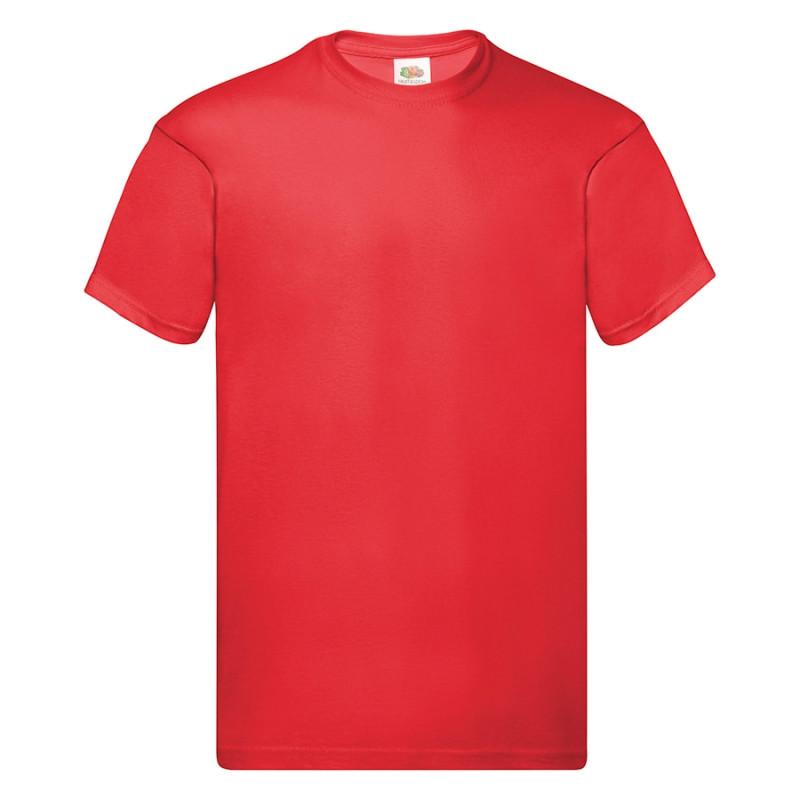 Футболка мужская ORIGINAL FULL CUT T 145, Красный, S, 610820.40 S
