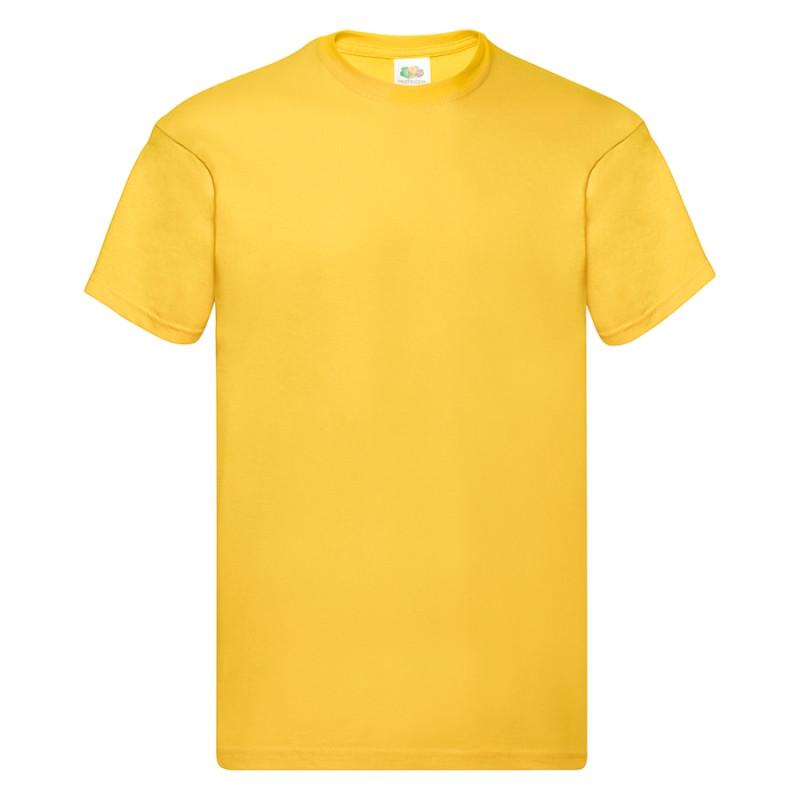 Футболка мужская ORIGINAL FULL CUT T 145, Желтый (Pantone 106C), S, 610820.34 S