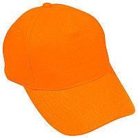 Бейсболка HIT, 5 клиньев, застежка на липучке, Оранжевый, -, 8302 44