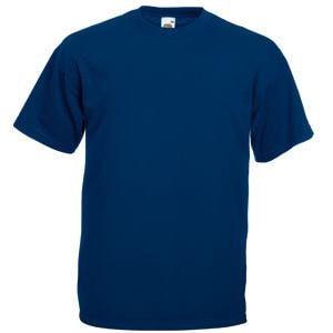 Футболка мужская VALUEWEIGHT T 165, Темно-синий, S, 610360.32 S