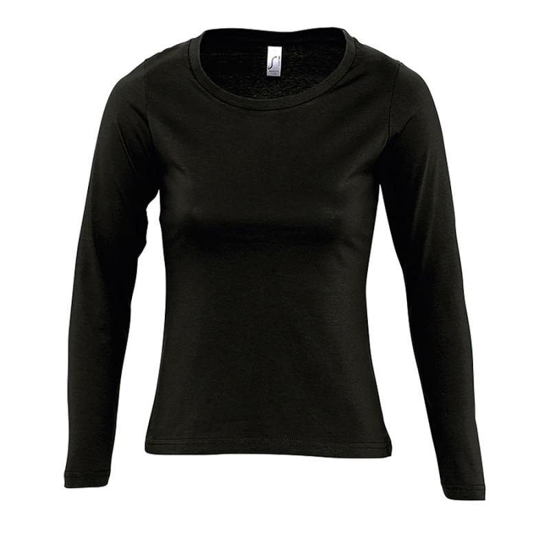 Футболка женская MAJESTIC 150, Черный, XL, 711425.309 XL