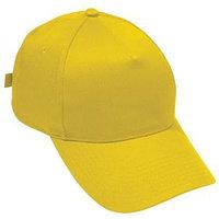 Бейсболка STANDARD, 5 клиньев, металлическая застежка, Желтый (Pantone 106C), -, 8300 34