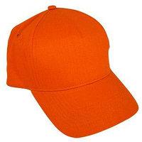 Бейсболка STANDARD, 5 клиньев, металлическая застежка, Оранжевый, -, 8300 44, фото 1