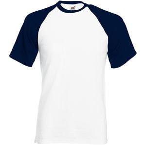 Футболка мужская SHORT SLEEVE BASEBALL T 160, Темно-синий, 2XL, 610260.WE 2XL