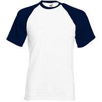 Футболка мужская SHORT SLEEVE BASEBALL T 160, Темно-синий, 2XL, 610260.WE 2XL, фото 1