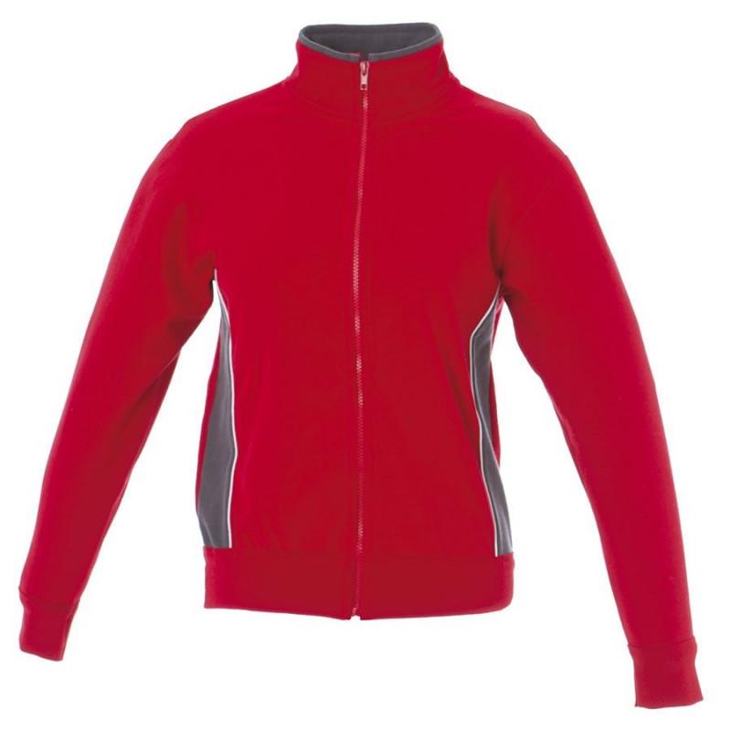 Толстовка мужская CAGLIARI 280, Красный, XL, 399896.04 XL