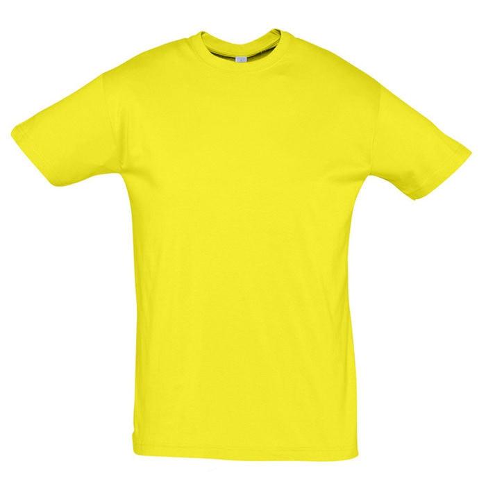 Футболка мужская REGENT 150, Желтый, S, 711380.302 S