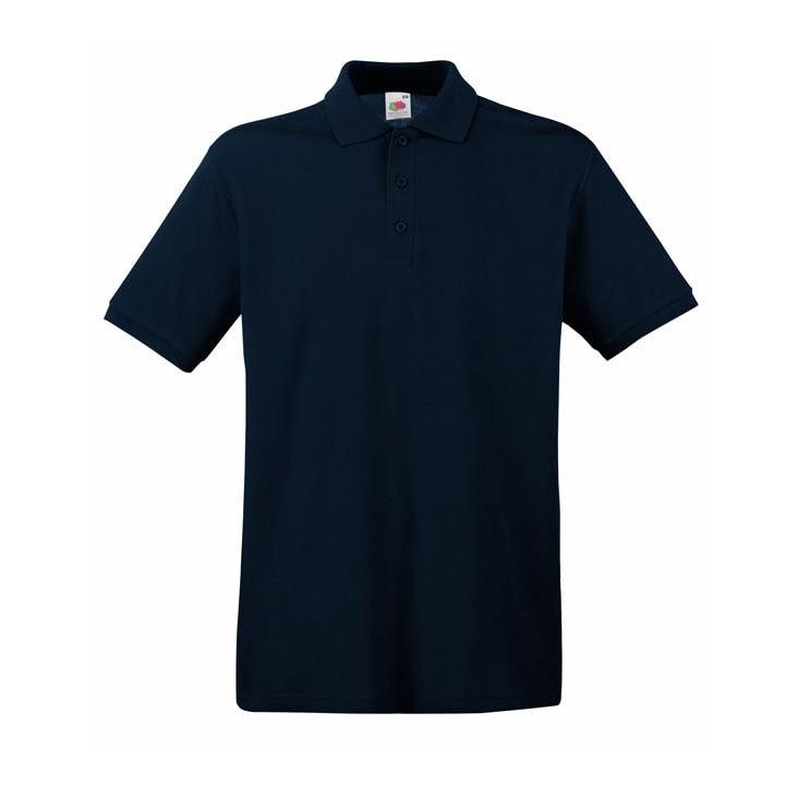Поло мужское PREMIUM POLO 180, Темно-синий, S, 632180.AZ S