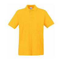 Поло мужское PREMIUM POLO 180, Желтый, 2XL, 632180.34 2XL, фото 1