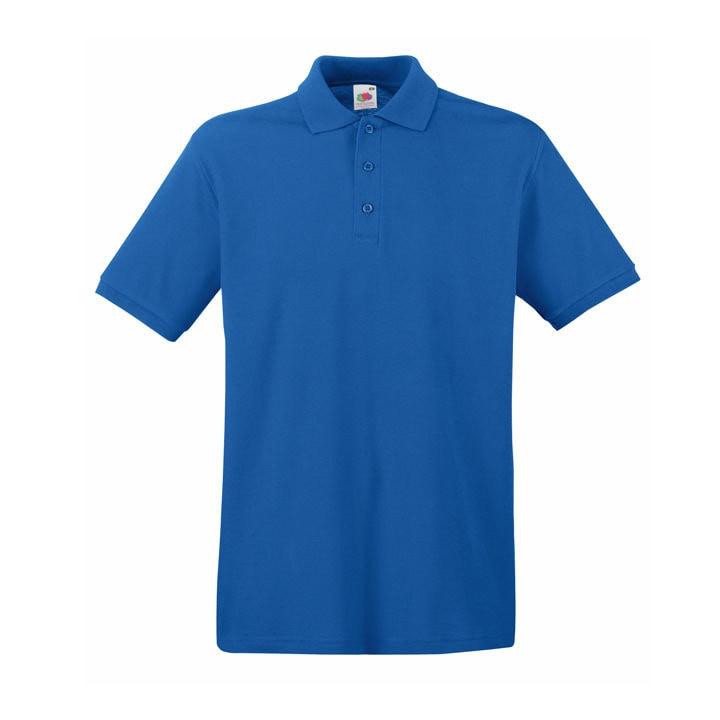 Поло мужское PREMIUM POLO 180, Синий, 2XL, 632180.51 2XL