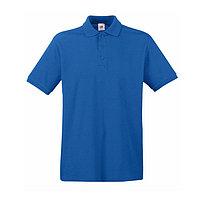 Поло мужское PREMIUM POLO 180, Синий, 2XL, 632180.51 2XL, фото 1