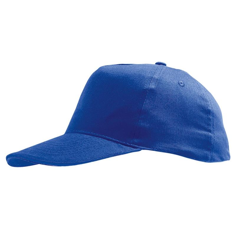 Бейсболка детская SUNNY KIDS, 5 клиньев, застежка на липучке, Синий, -, 788111.241