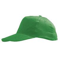Бейсболка детская SUNNY KIDS, 5 клиньев, застежка на липучке, Зеленый, -, 788111.272, фото 1