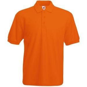 Поло мужское 65/35 POLO 180, Оранжевый, S, 634020.44 S