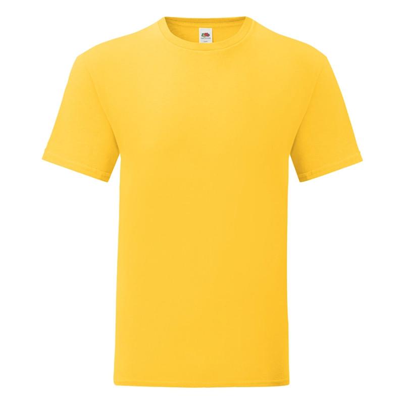 Футболка мужская ICONIC 150, Желтый, S, 614300.34 S