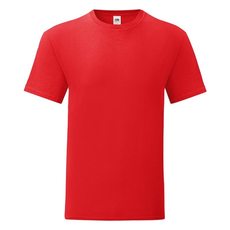 Футболка мужская ICONIC 150, Красный, S, 614300.40 S
