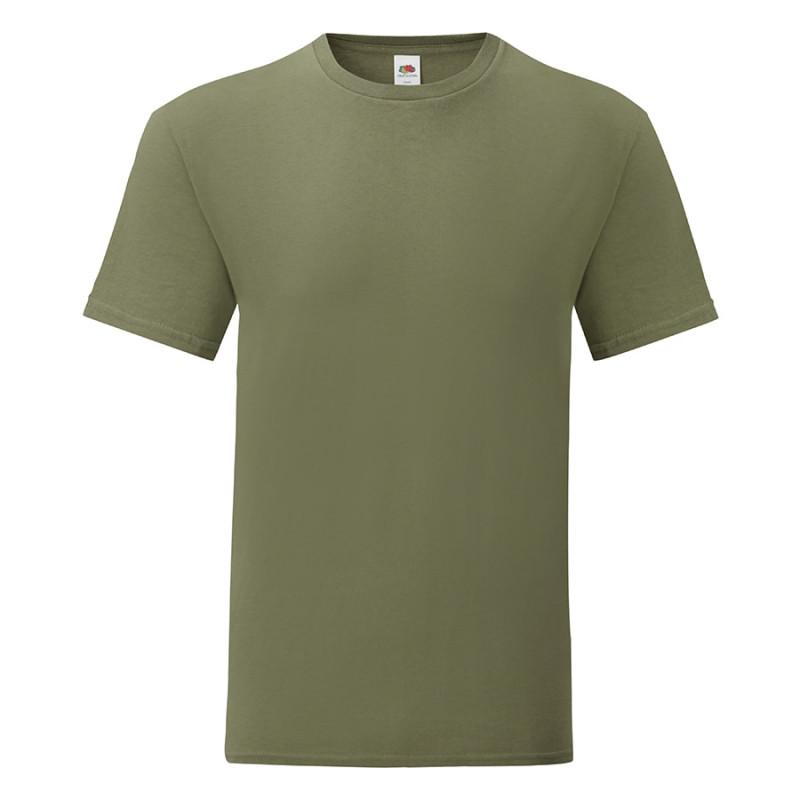 Футболка мужская ICONIC 150, (устарел) Оливковый, L, 614300.59 L