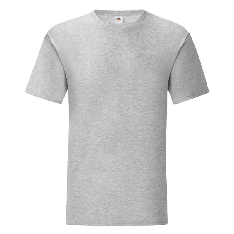 Футболка мужская ICONIC 150, Серый, S, 614300.94 S