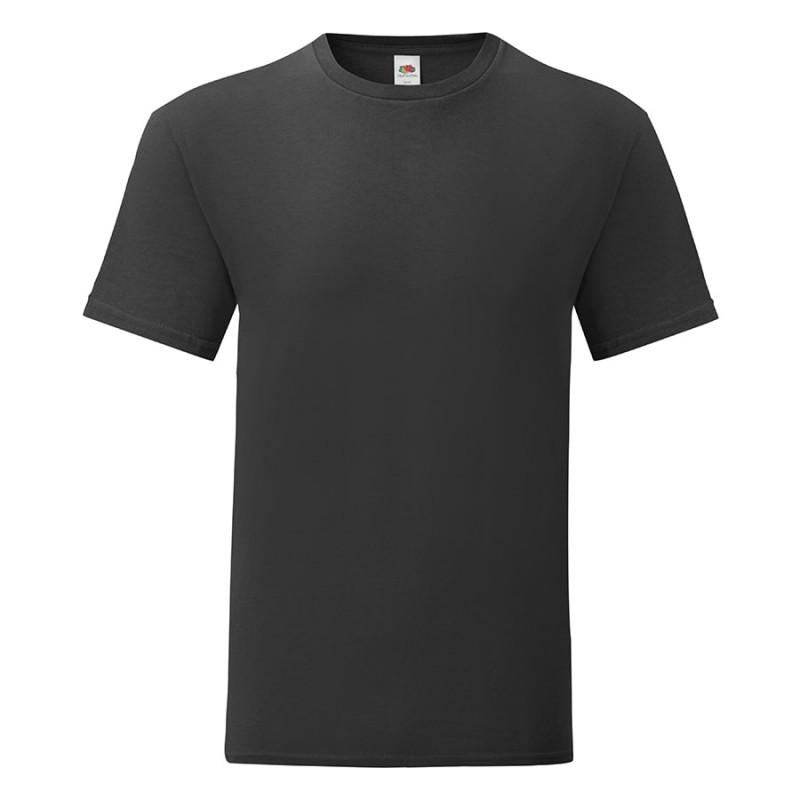 Футболка мужская ICONIC 150, Черный, L, 614300.36 L
