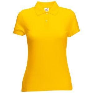 Поло женское 65/35 POLO LADY-FIT 180, Желтый, XS, 632120.34 XS