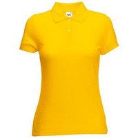 Поло женское 65/35 POLO LADY-FIT 180, Желтый, XL, 632120.34 XL
