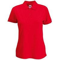 Поло женское 65/35 POLO LADY-FIT 180, Красный, XS, 632120.40 XS, фото 1