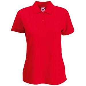 Поло женское 65/35 POLO LADY-FIT 180, Красный, XL, 632120.40 XL