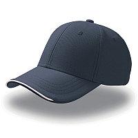 Бейсболка ESTORIL, 6 клиньев, застежка на липучке, Темно-синий, -, 25407.25
