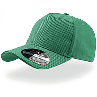 Бейсболка GEAR, 5 клиньев, застежка на липучке, Зеленый, -, 25410.18