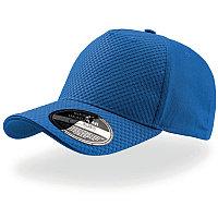 Бейсболка GEAR, 5 клиньев, застежка на липучке, Синий, -, 25410.22
