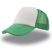 Бейсболка RAPPER, 5 клиньев, пластиковая застежка, Белый, -, 25420.18