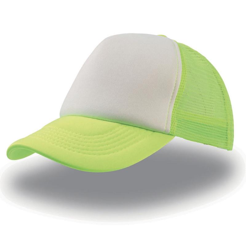 Бейсболка RAPPER, 5 клиньев, пластиковая застежка, Зеленый, -, 25420.03