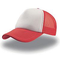 Бейсболка RAPPER, 5 клиньев, пластиковая застежка, Белый, -, 25420.08