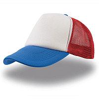 Бейсболка RAPPER, 5 клиньев, пластиковая застежка, Белый, -, 25420.182