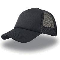 Бейсболка RAPPER, 5 клиньев, пластиковая застежка, Черный, -, 25420.35, фото 1