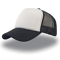 Бейсболка RAPPER, 5 клиньев, пластиковая застежка, Белый, -, 25420.351